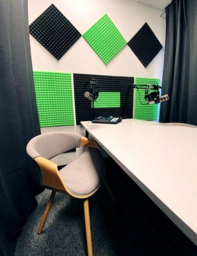Gdyńskie studio podcastu