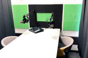 Studio nagrań Podcast